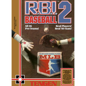 RBI Baseball 2 - NES