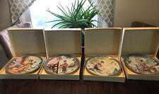 Bradford Exchange Imperial Jingdezhen Porcelain Plates Total Of 4 Iob Mint