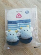 Fehn Baby Socken Drache Rasselsocken 0-12 M