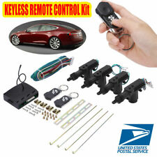 Universal Car Central Power Door Lockampunlock Kit Remote Locking Security System