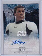 Star Wars The Force Awakens Series 2 Movie AUTOGRAPH Card JOHN BOYEGA as FINN *