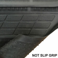4 Piece Heavy Duty Universal Black Rubber Car Mat Set Non Slip Grip Van Mats