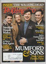 ROLLING STONE MAGAZINE MARCH 2013 MUMFORD AND SONS SWEDISH HOUSE MAFIA
