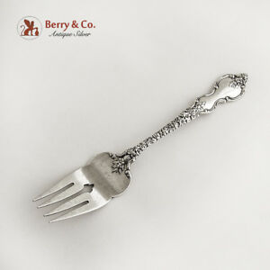 Du Barry Salad Fork Sterling Silver International 1968