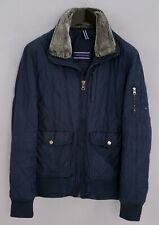 Men Tommy Hilfiger Jacket Bomber Quilted Casual Breathable L ZOA877