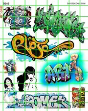 6046 DAVE'S DECALS GRAFFITI TRAIN ART TAGGING GIRLS BETTIE MORE FREE SHIPPING