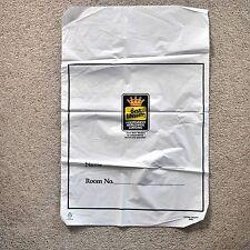 * Vintage Best Western plastic laundry bag *