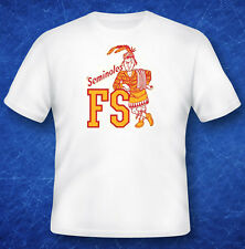 Vintage Decal  T-Shirt Tee Shirt  University of FLORIDA STATE Seminoles  College