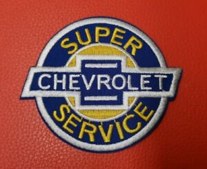 Chevrolet Super Service Sew or Iron On Patch