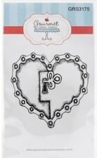 Unchain My Heart Cling Rubber Stamp Gourmet NEW love valentine note card art tag