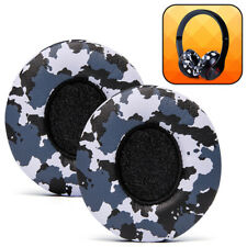 Beats Solo Replacement Ear Pads - Fits Beats Solo 2 & 3 Wireless - Snow Camo