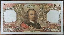 Billet de 100 francs CORNEILLE 1 - 9 - 1977 FRANCE  N.1097