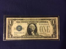 1928-B United States $1 Silver Certificate Funny Back