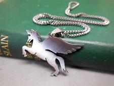 PENDANT NECKLACE; MEN'S; STAINLESS STEEL; PEGASUS; S/STEEL NECKLACE - 5958