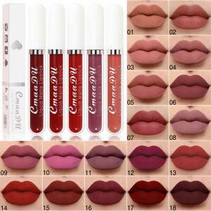 Lip Stick Matte Liquid Lipstick Makeup Waterproof Long Lasting Cosmetics
