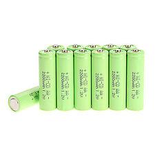 NUOVO 12pcs AA 2A 2200mAh 1.2 V Ni-Cd batteria ricaricabile per giocattoli