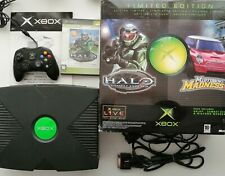 Microsoft Xbox Video Game Console Limited Edition BOXED PAL TESTED