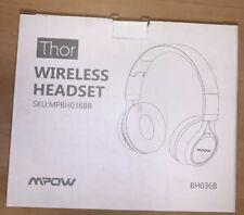 Mpow Thor Foldable Bluetooth Headphones Wireless Headset Earphone for iPhone