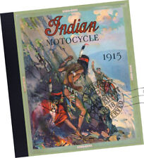 Hendee Manufacturing Co 1915 Indian Motorcycle Trade Samples Catalog bike models