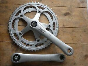 Ofmega Vantage Alloy 52/42 Chainset, 170mm Cranks - Retro /Classic Bicycle