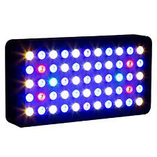 LED 165w Aquarium Light Dimmable Full Spectrum Fish Tank Reef Coral Marine Lamp
