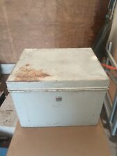 Vintage Metal Document / Deed /Storage Box - NO KEY