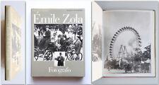 Emile Zola Fotografo Mazzotta Fotografia 1979 1^ ed. Massin