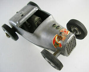 CLASSIC CAMERON RODZY GAS POWERED TETHER CAR - 1954 - One Family Owned