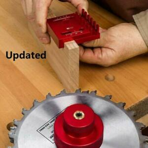 1pcs Woodworking Gap Gauge Measuring Ruler Line Sawtooth Ruler Marking Tools