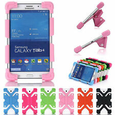 Universal 7.0-8 inch Tablet Soft Silicone Shockproof Durable Safety Case Cover