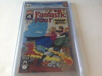 FANTASTIC FOUR 356 CGC 9.8 WHITE PS NEW WARRIORS DUNGEONS DRAGONS MARVEL COMICS