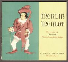 Samivel. Merlin Merlot. Père Castor. 1956