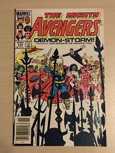 Avengers (Marvel, Nov. 1984 1st Series) #249 Stern, Milgrom, Sinnott, FF