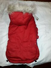 Petco Good2Go Anorak Red Coat for Dog Warm and Water Resistant