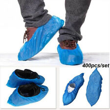 400Pcs Disposable Shoe Boot Covers Anti-Skid Medical Carpet Floor Protector Blue