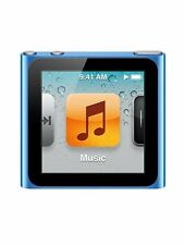 Official Apple iPod Nano 6th Gen Blue *VGWC*+Warranty!!