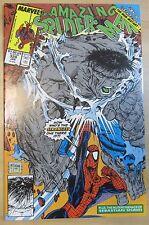 The Amazing Spider-Man #328 (Jan 1990) NM- 9.2 vs the Hulk/McFarlane-a.Free Ship