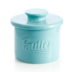 Sweese 322.102 Porcelain Butter Crock Keeper - French Butter Dish with Lid - ...