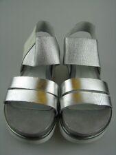 Daniel Hechter HJ8385-19 Damen Sandale in silber Leder Gr.37
