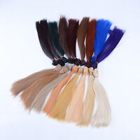 25*100cm High-temperature Wire DIY Straight Hair Wig for 1/3 1/4 1/6  Doll、AU