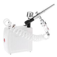 Dual Action Airbrush Air Compressor Kit aerografo spray gun for Art Painting