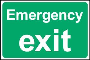 fire emergency exit
