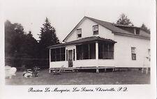 Pension La Marquise Lac Simon CHÉNÉVILLE Quebec Canada 1940-50s Carte Photo 1