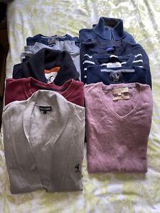 Mens Clothes Bundle Jumpers L Joblot Reseller X10 Religon Ralph Lauren Large