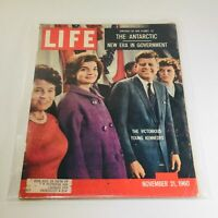 VTG Life Magazine: Nov 21 1960 - The Antarctic/New Era in Gov./Young Kennedy's