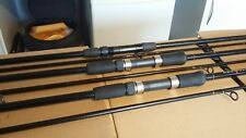 3 LIGHT CARP/TENCH/BARBEL--11ft 2lb T/C FISHING RODS--1 DAIWA--BUYER COLLECTS.