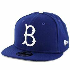 New Era 9Fifty Brooklyn Dodgers Basic Snapback Hat - Royal Blue