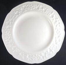 "ORANGE BLOSSOM – INDIANA Milk Glass 9 1/2"" DINNER PLATE White VINTAGE"
