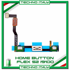 RICAMBIO HOME BUTTON FLEX CABLE PULSANTE TASTO per Samsung Galaxy S2 i9100