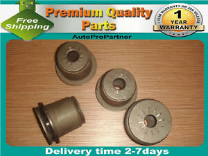 4 FRONT UPPER CONTROL ARM BUSHING FOR GMC K2500 SUBURBAN 92-99